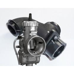 Single 40mm Mount Manifold with Carburetor Yamaha Virago XV700-1100