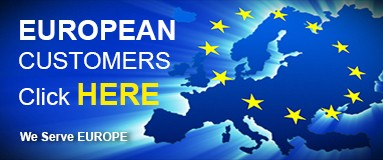 We serve Europe
